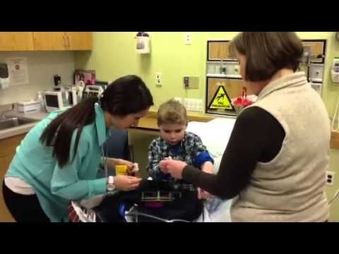 #ChildLife Services at Tufts Medical Centers Floating Hospital. Some great  segments demonstrating preparation and