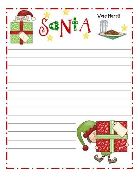 FREE Holiday writing papers | School Stuff - Christmas | Pinterest ...