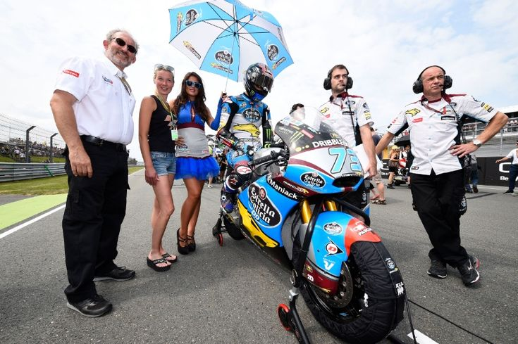 Alex Marquez, German Moto2 Race 2015