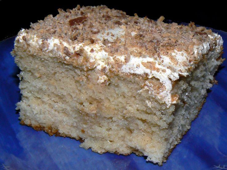 Gâteau Crunchie | .recettes.qc.ca