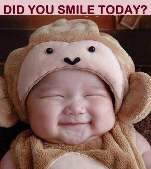 Don`t Forget To Smile..  It makes me happy to look at this picture!!