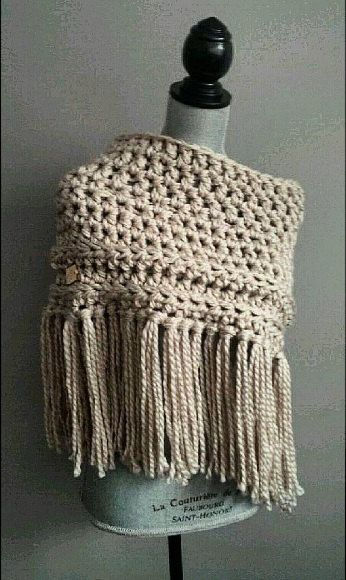 17 Best images about crochet on Pinterest Free pattern, Shawl and Boot cuffs