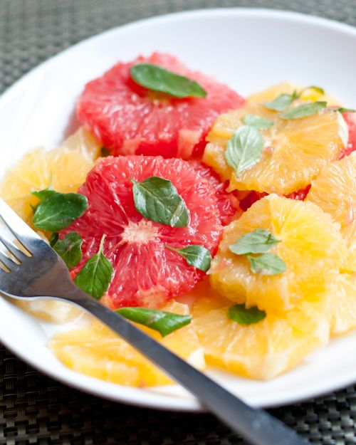 Cafe Johnsonia: Citrus Salad with Lemon Mint and Honey | skinnygirl ...