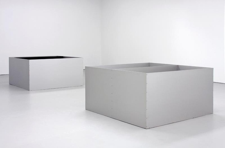 Donald Judd 'Untitled' 1989 installation