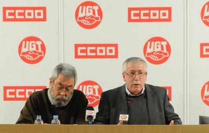 Sindicatos españoles, funcionarios politicos
