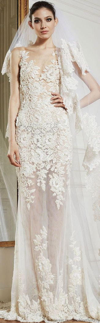 i really do love this. he can get over it.Zuhair Murad | Bridal S/S 2013