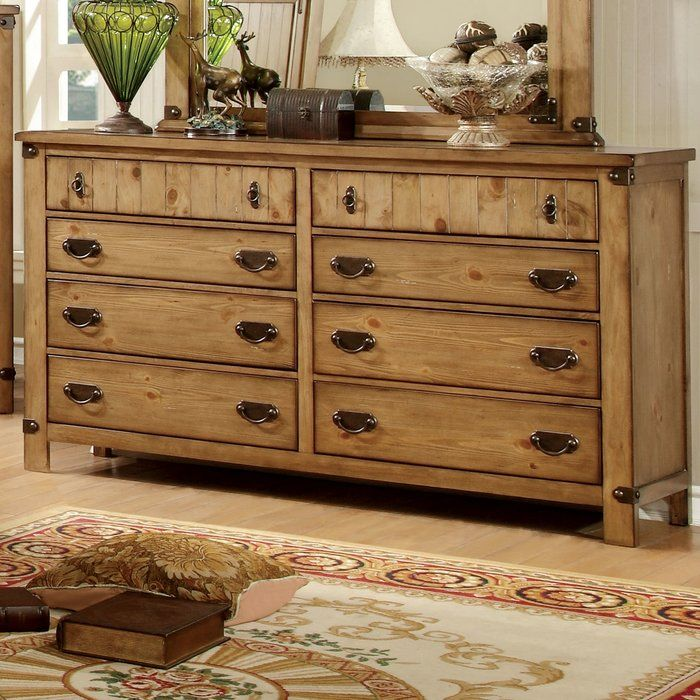 Hemenway 8 Drawer Double Dresser Dresser 8 Drawer Dresser Double Dresser