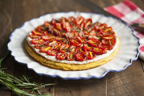 ... Pizza on Pinterest   Crusts, Roasted cherry tomatoes and Vegan recipes