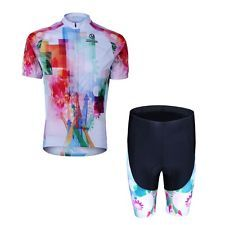 Cycling Jersey Bike Bicycle Clothing Short Sleeve Suit Jersey + Shorts For Women
