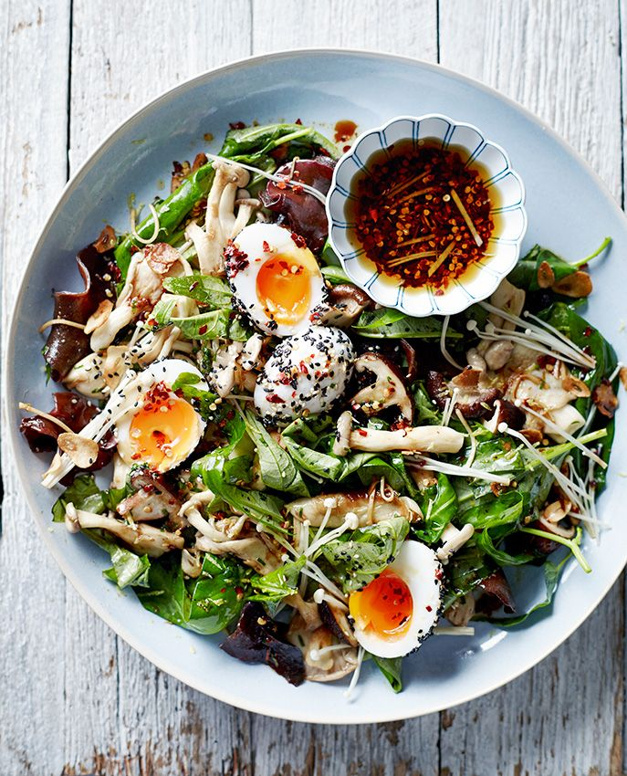 Asian Mushroom Salad #paleo #recipe