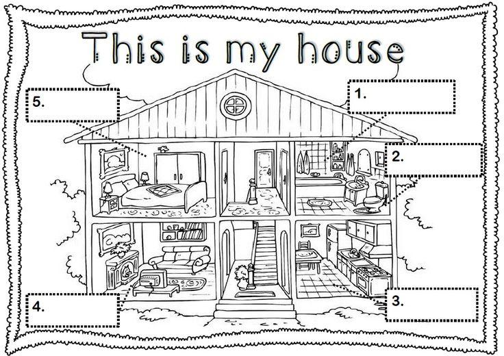 Les pièces de la maison en anglais