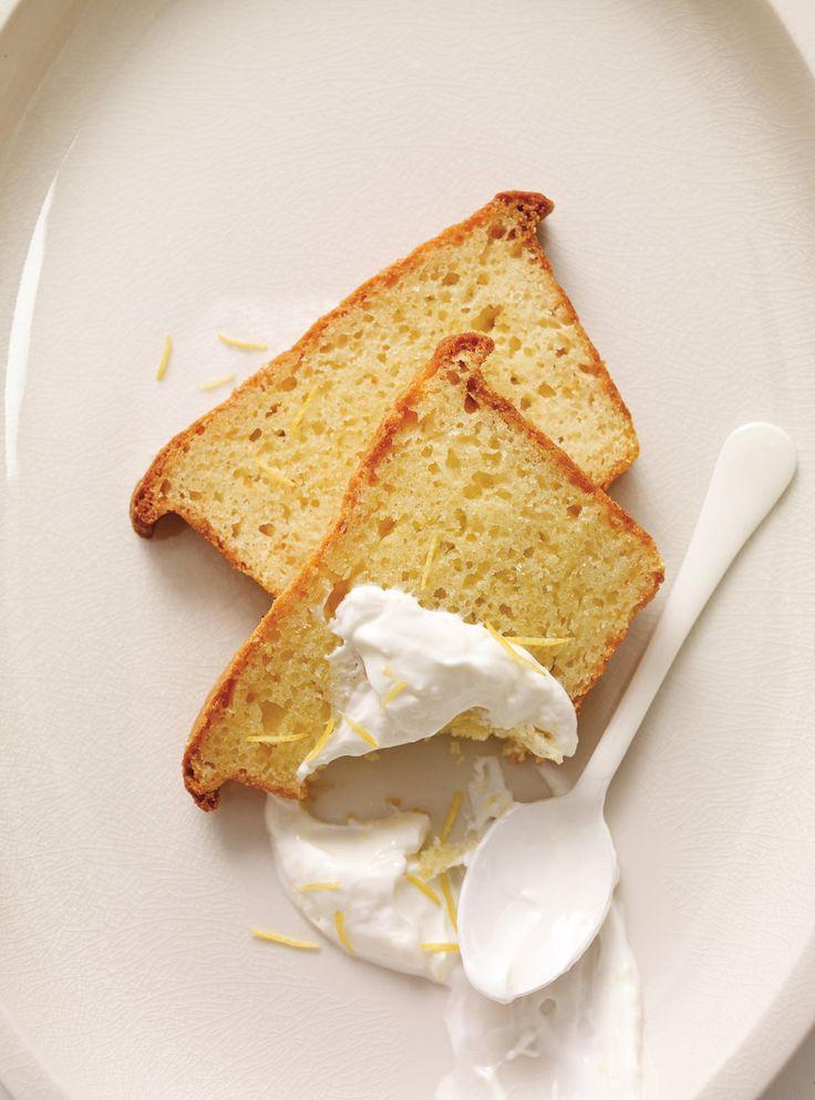 Recette de Ricardo de cake au citron et au yogourt