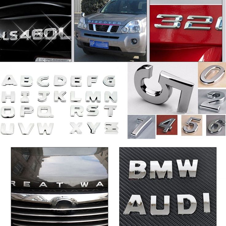 Best Car Accessories Images On Pinterest Auto Accessories - Letter stickers for cars
