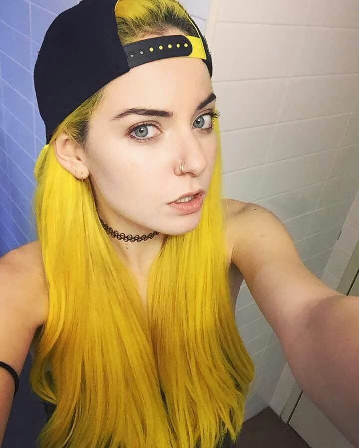 yellow hair dye ideas