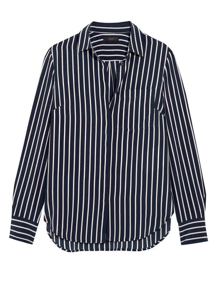 Les 25 meilleures id es de la cat gorie chemise ray e femme sur pinterest blouse bleue tenue - Comment enlever des rayures sur du verre ...