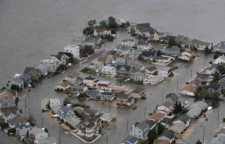 Hurricane Sandy Jersey Shore, (October 30, 2012).