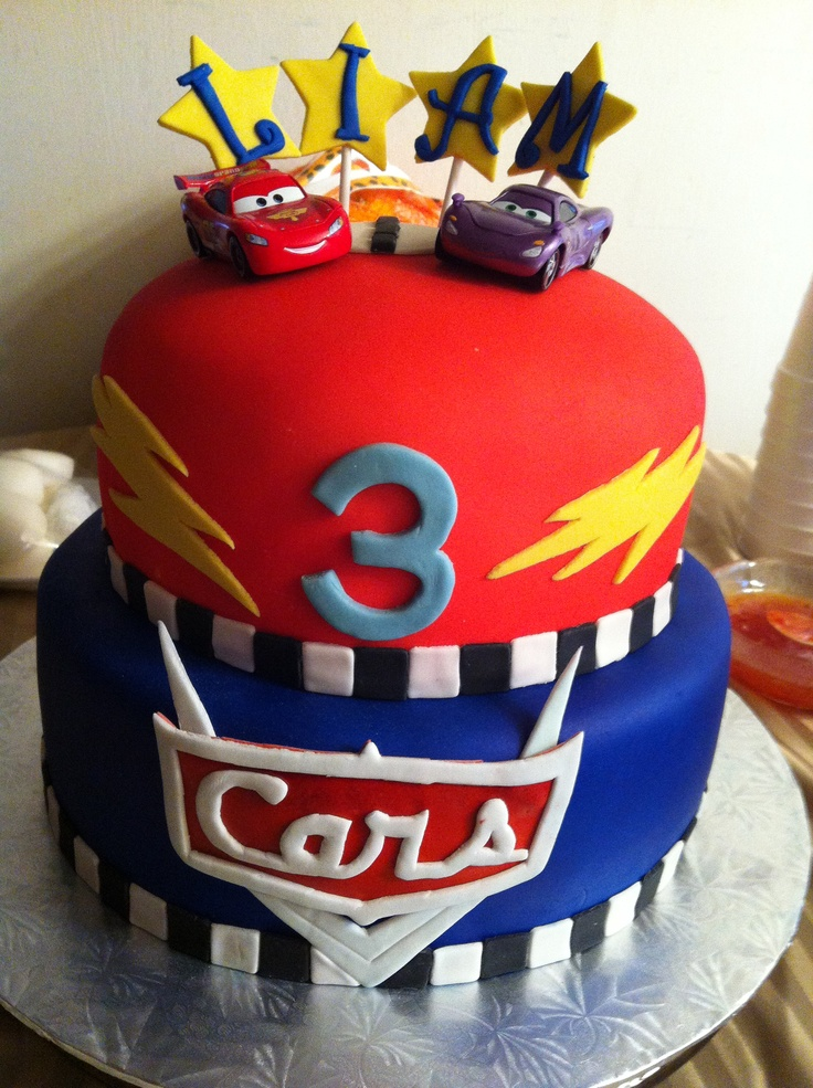 Cake Designs Disney Cars : Disney cars cake Party Ideas Pinterest Birthday ...