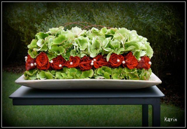 Bloemsierkunst met rozen en hortensia - bloemstukjes zelf maken met rozen en…