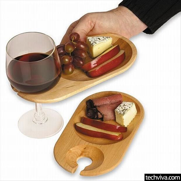 i love this if you had 4 or 5 and were having a charcuterie or