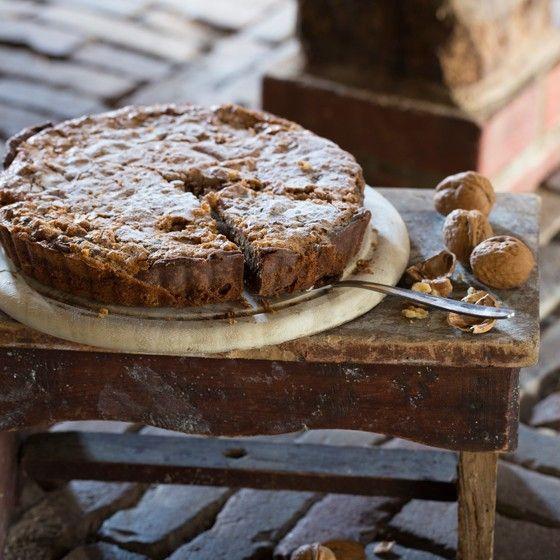Mijn taartje :-) Landleven - Walnotentaartje