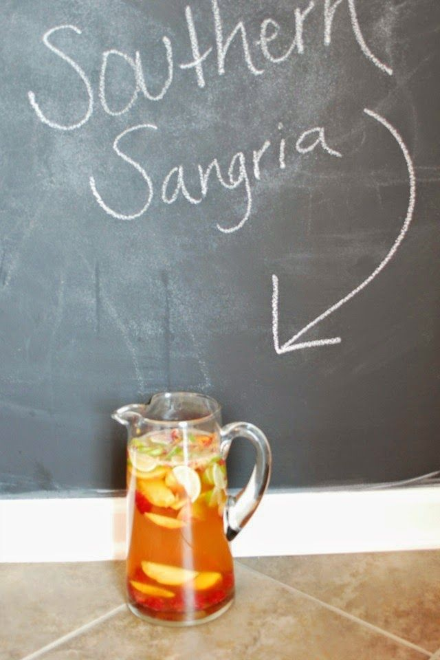 Love & Loyally: Recipe: Southern Sangria