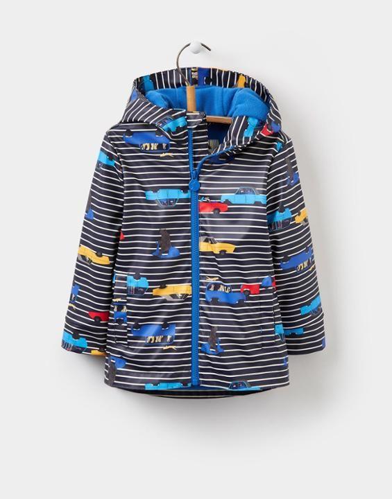 Joules Skipper Boys Waterproof Rubber Coat (1-6yr)