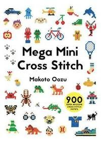 This new book from Japanese cross stitch sensation Makoto Oozu is packed with hundreds of tiny motifs that can be stitched onto anything from badges and hankies to T-shirts and bags. You will find it impossible to choose a favourite! The book is arranged by themes inspired by all aspects of everyday life. Take a trip to the toyshop with teddies, dinosaurs, cars, trains and computer games. Make sure you're on trend with sunglasses, watches, socks, jewellery and make-up. Visit the shoe sho...