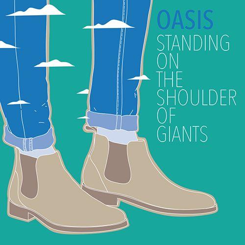 Oasis - Standing on the Shoulder of Giants - All content copyright 2016, Federico Gastaldi. All rights reserved. illustration, music, cover, album, conceptual, graphic, design, Federico Gastaldi, Salzmanart.com