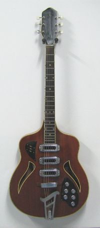 60s semi acoustic guitar made in former East-Germany