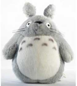 Big Totoro! I sleep with one of these every night! Perfect cuddle, arm comfort size!
