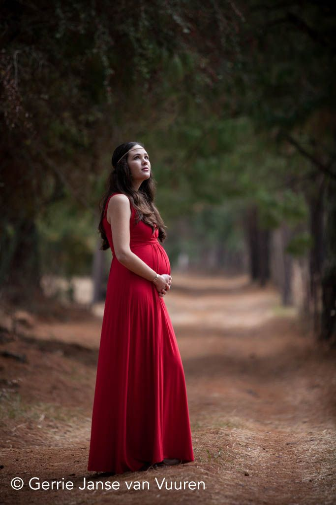 Wearing Lonzi&Bean Maternity's MaxiMum dress