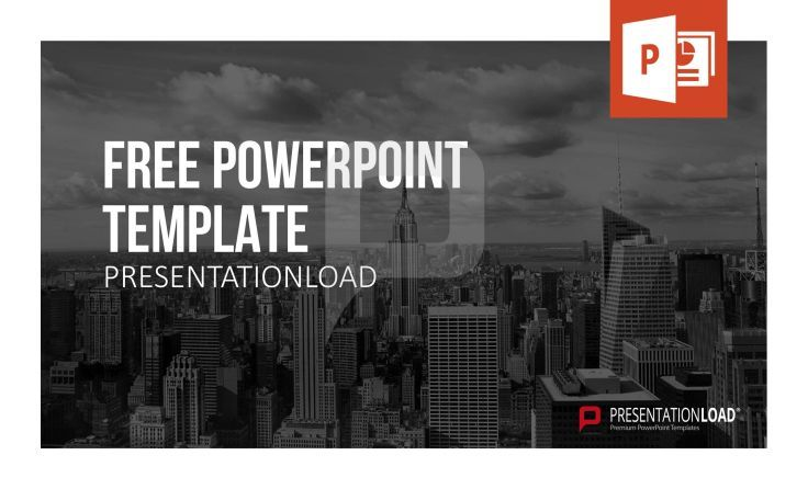 Skyline Photo backgrounds, ideal for presenting business content.