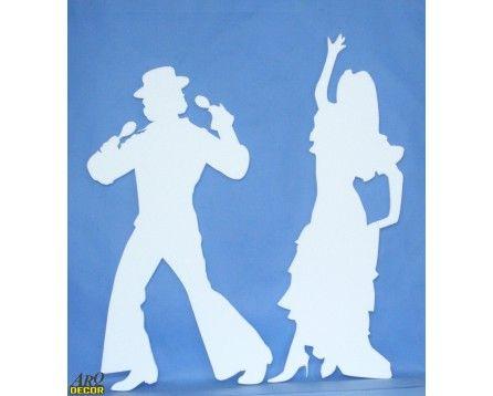 Tańcząca Para 06 - Dekoracje Styropianowe (NA ZAMÓWIENIE) - ARQ - DECOR | Pracowania Dekoracji ARQ DECOR