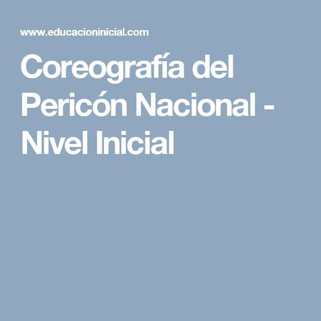 Coreografía del Pericón Nacional - Nivel Inicial