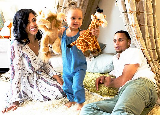 Riley Curry is a big sister! Ayesha Curry and Steph Curry welcomed another baby girl!