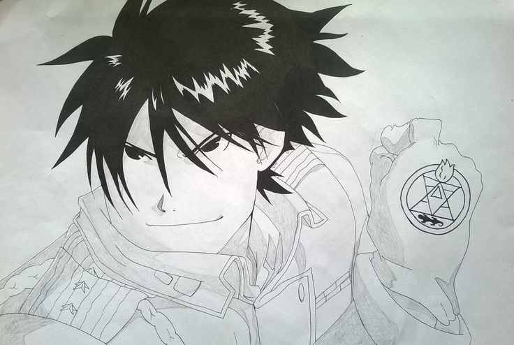 Colonel Roy Mustang - Fullmetal Alchemist Brotherhood