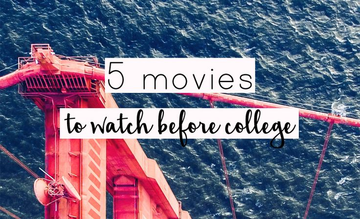 These college movies will prepare you for the best semester ever! These five college movies are must-sees whether it's your first semester or your last!