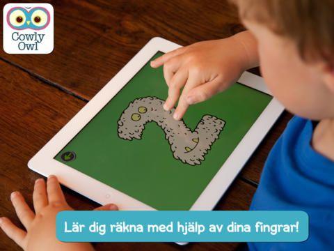 Little Digits - en app som lär barn om siffror genom att sätta en ny prägel på fingerräkning. Du kan spela in vad siffrorna heter på ditt eget språk.