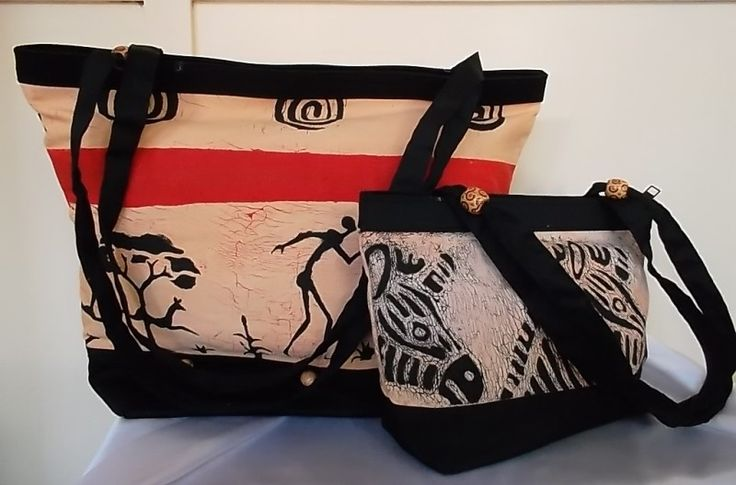 100% cotton fabric with beads on handle. Made using hand screen printed fabrics