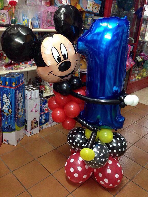 418 best images about globos un arte on pinterest for Balloon decoration minnie mouse