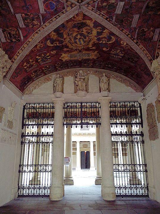 #Padova, #Italy, palazzo #Bo, sede Universitaria.