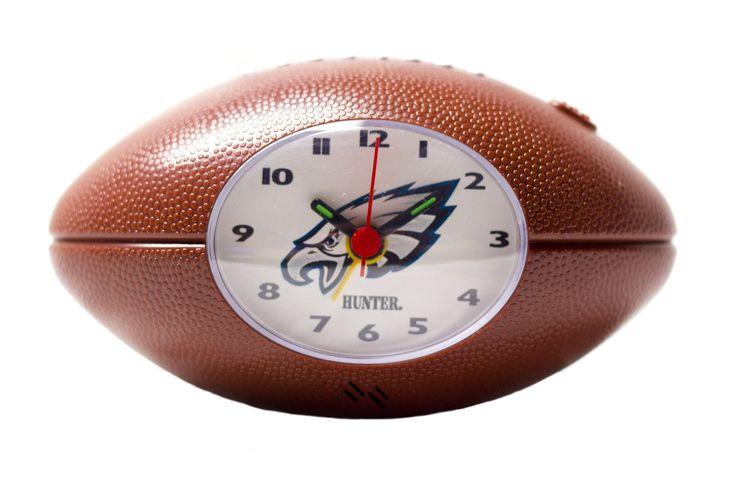 Philadelphia Eagles NFL alarm clock