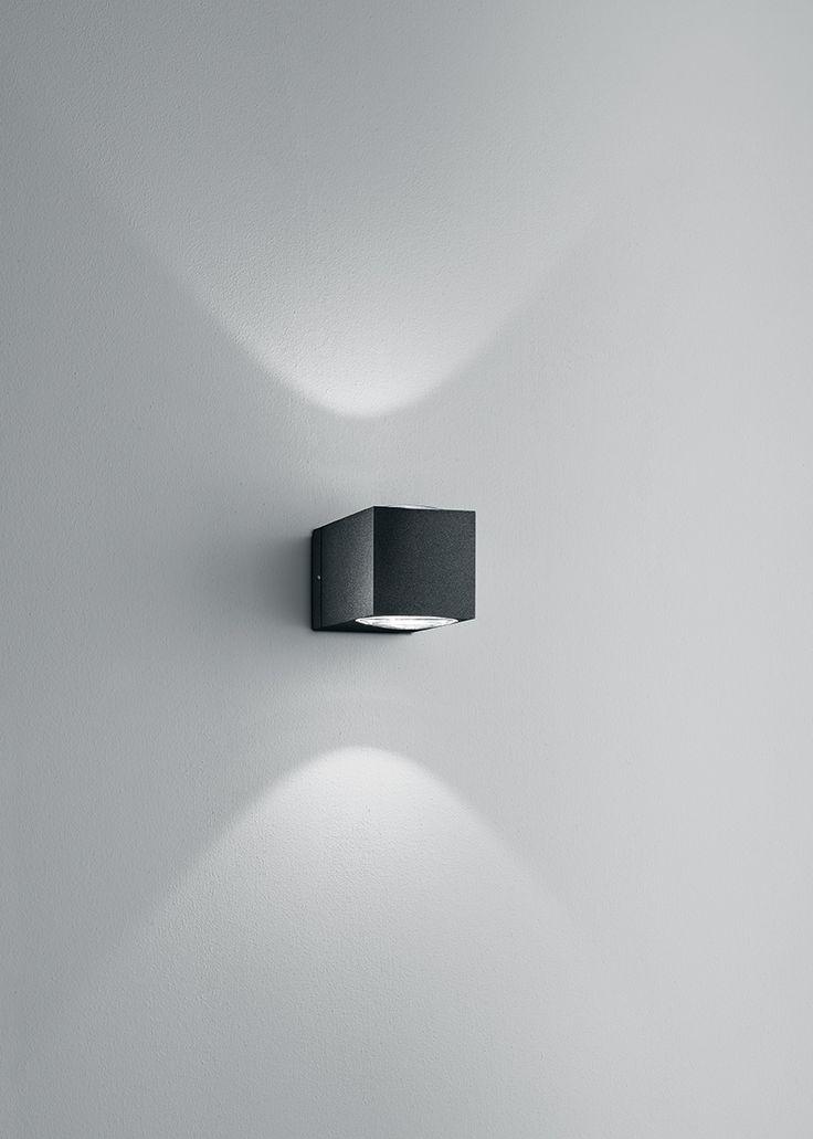 como anthracite . outside luminaire . Außenleuchte . wall luminaire . Wandleuchte . LED