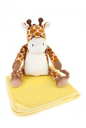 BoBo Buddies Childrens Blanket Backpack (Giraffe) £24.99 #giraffe #backpack #kids