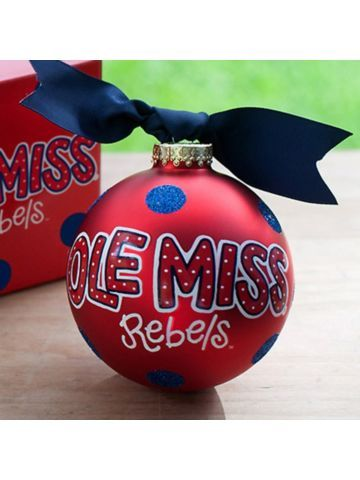 Ole Miss Christmas Ornaments