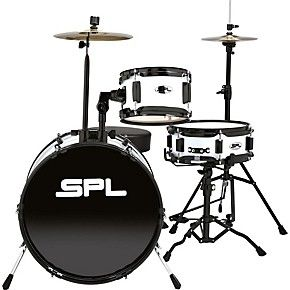 Shop for the Sound Percussion Labs Lil Kicker - 3 Piece Jr Drum Set with Throne and receive free shipping on your order and the guaranteed lowest price.