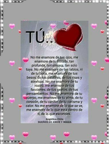 Amo todo de ti babe Thank you for everything Te Amo Amor❤