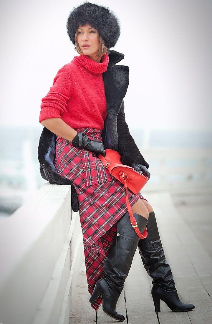 яркие краски зимы, модные вязаные вещи 2016, вязаная мода 2016, вязаные свитера 2016 (фото 3)