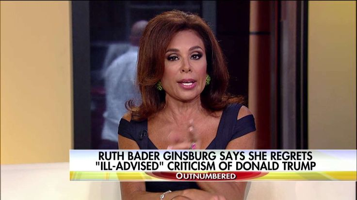 Pirro: Ginsburg, Lynch, Hillary 'All Doing Things They Know Aren't Allowed!'