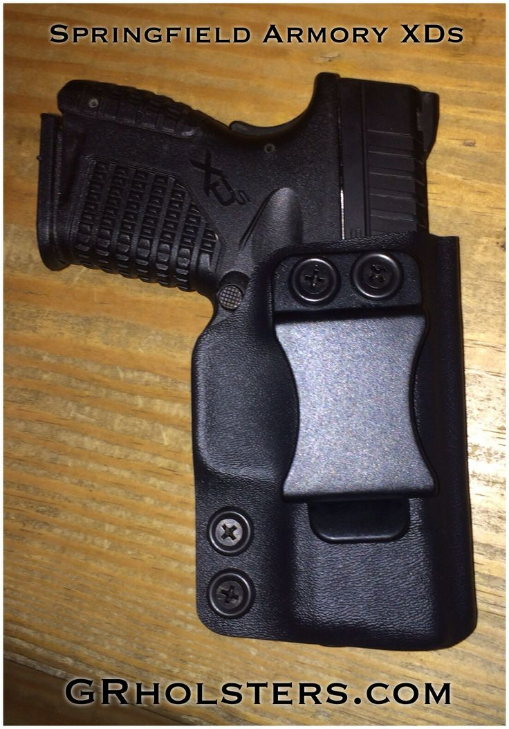 XDs IWB Kydex Holster. Springfield Armory XDs .45. This and other holsters can be found at GRholsters.com